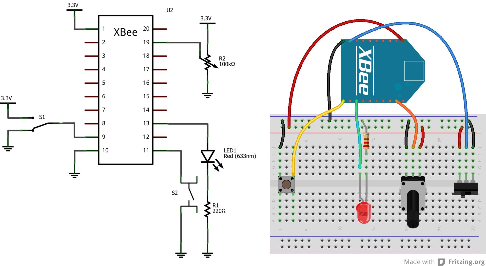 xbee wifi hookup guide learn sparkfun com xbee wiring diagram xbee wiring diagrams