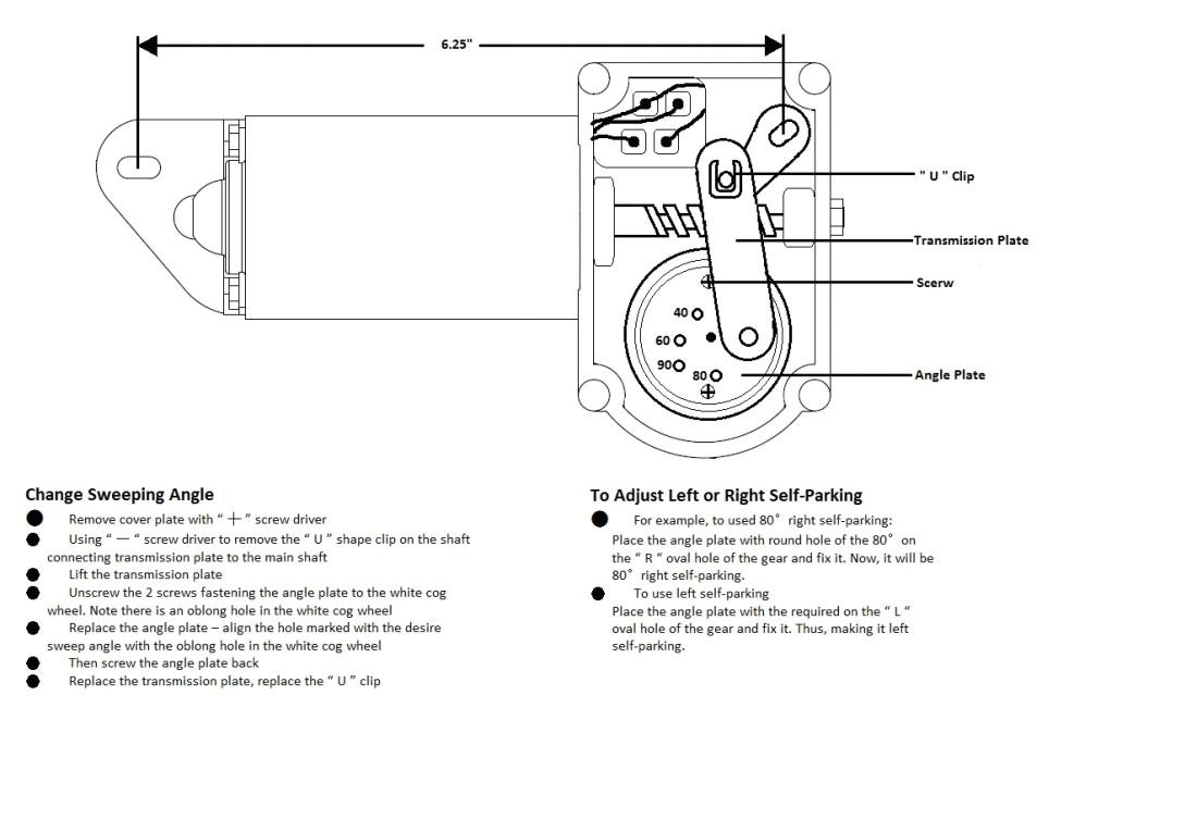wiper motor wiring diagram wiring diagram show bobcat windshield wiper motor wiring diagram technical information mga