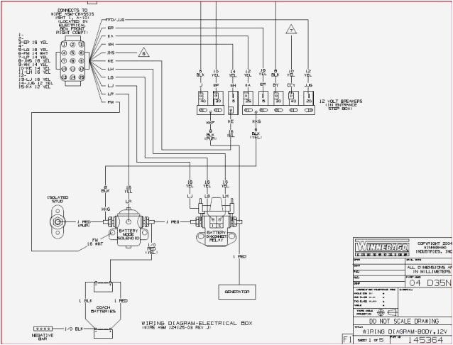 Winnebago Motorhome Wiring Diagram Wiring Diagram 1984 Winnebago Chieftain Yhgfdmuor Rv Diagram