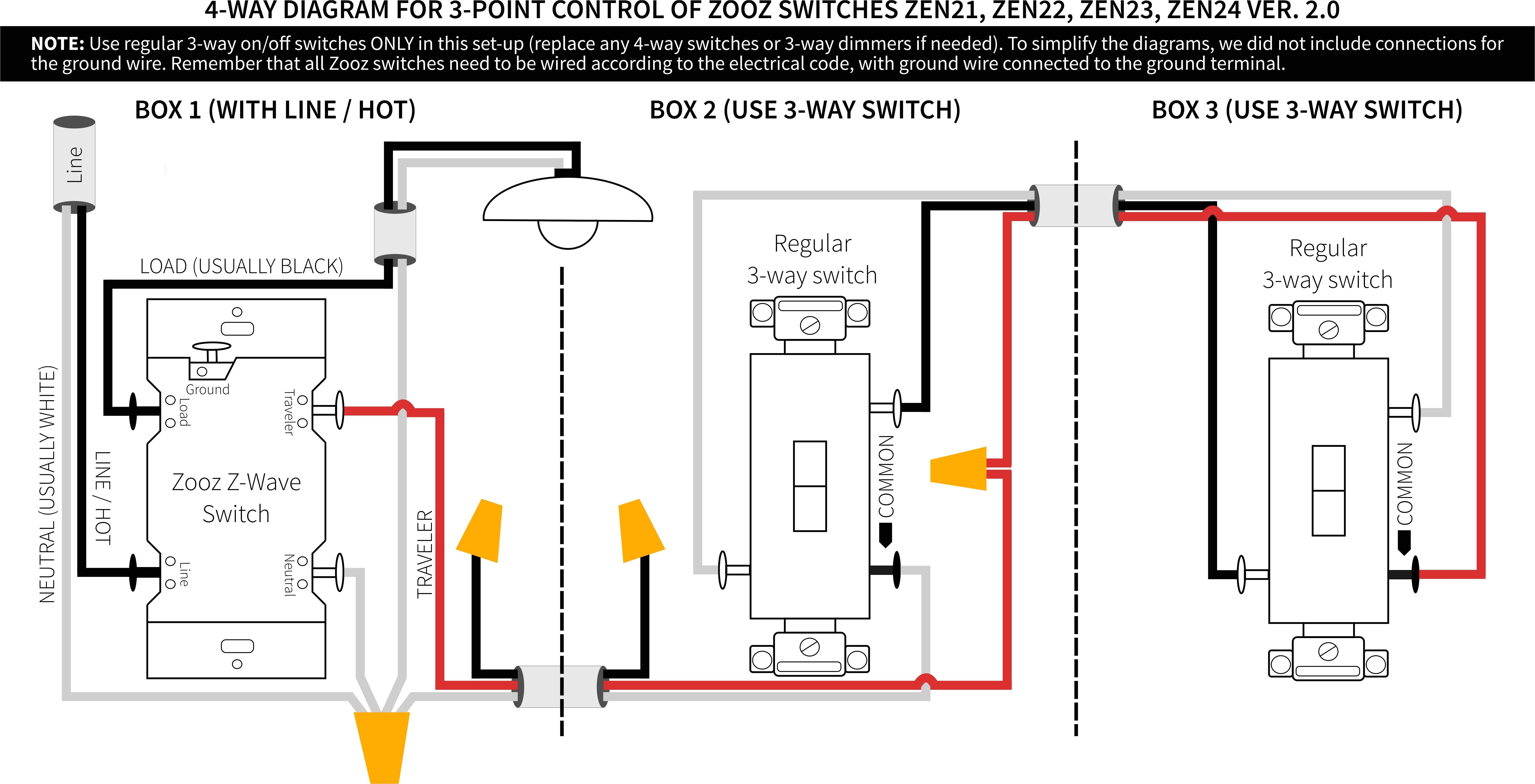 3 way dimmer wiring diagram variations wiring diagram view 4 way switch wiring diagram variations