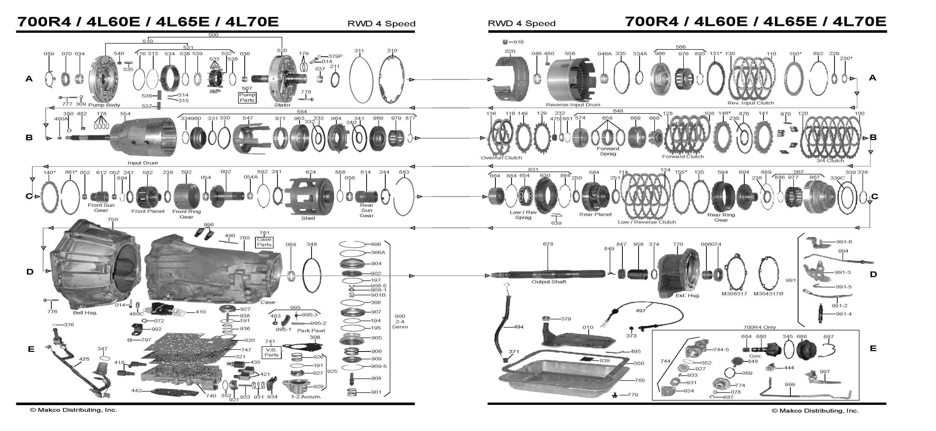 diagram 4l60e transmission diagram auto trans chart line 4l60e transmission rebuild kit oreillys 4l60e transmission rebuild diagram