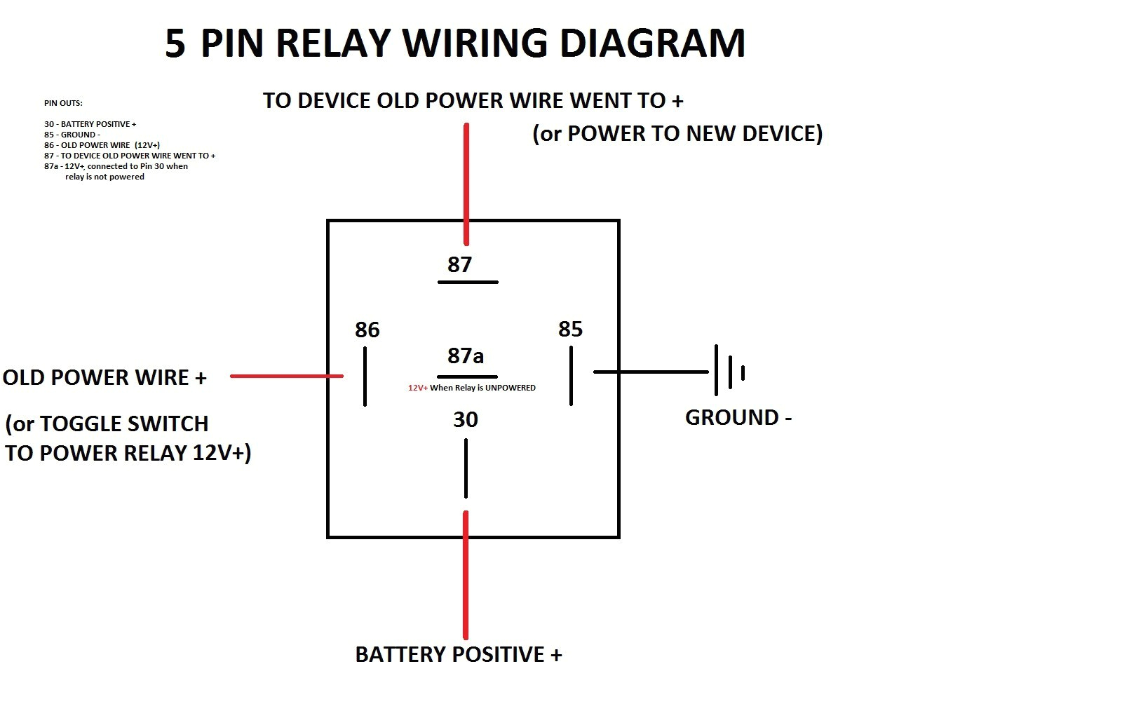 four wire relay wiring diagram wiring diagram name4 wire relay diagram wiring diagram post 4 wire