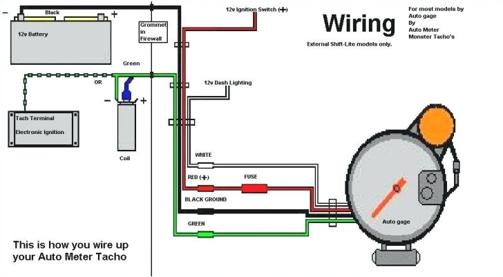 autogage tach wiring diagram wiring diagramauto meter street tach wiring diagram wiring diagram list