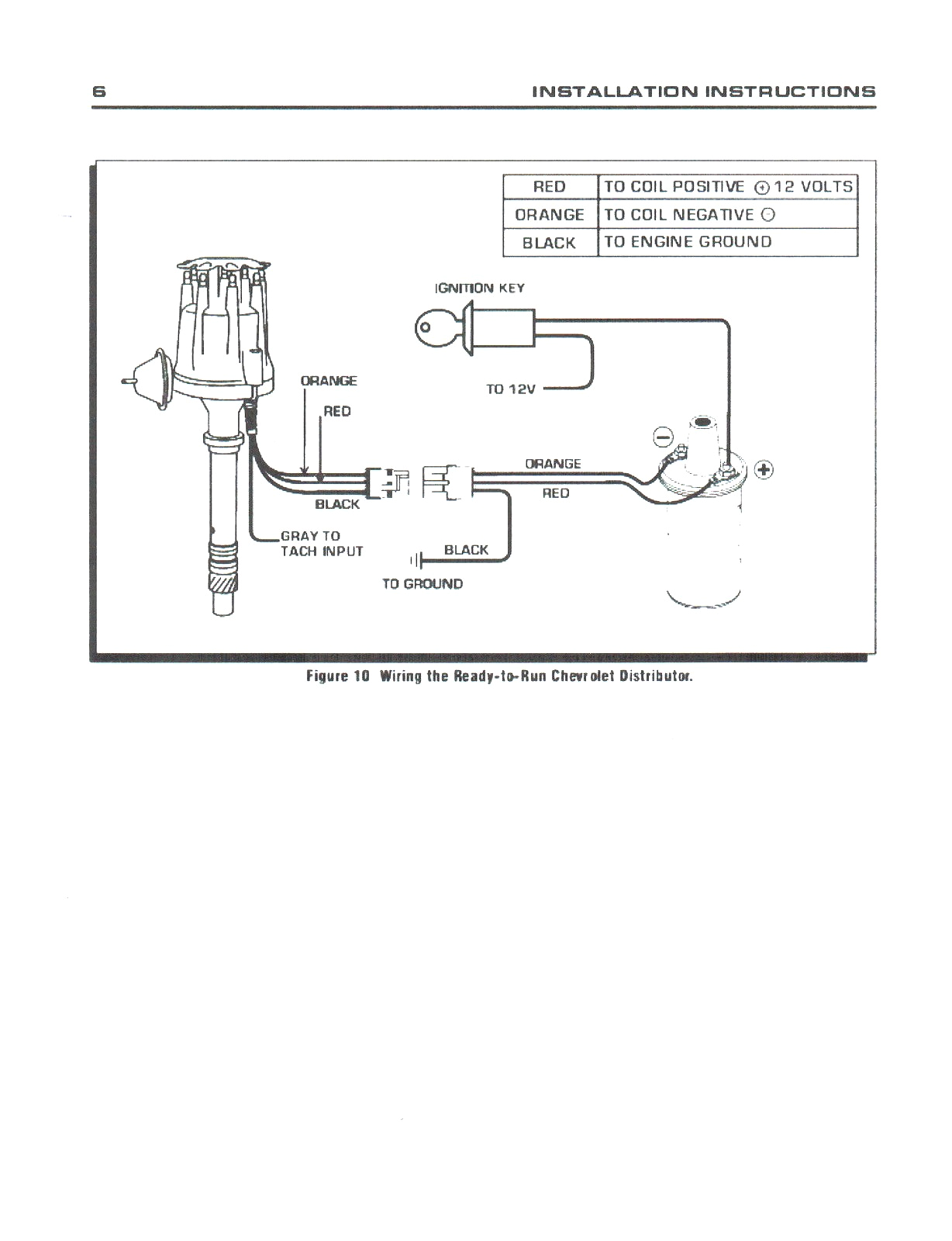 Wiring Diagram for Electronic Distributor Pro Comp Wiring Diagram Wiring Diagram Val