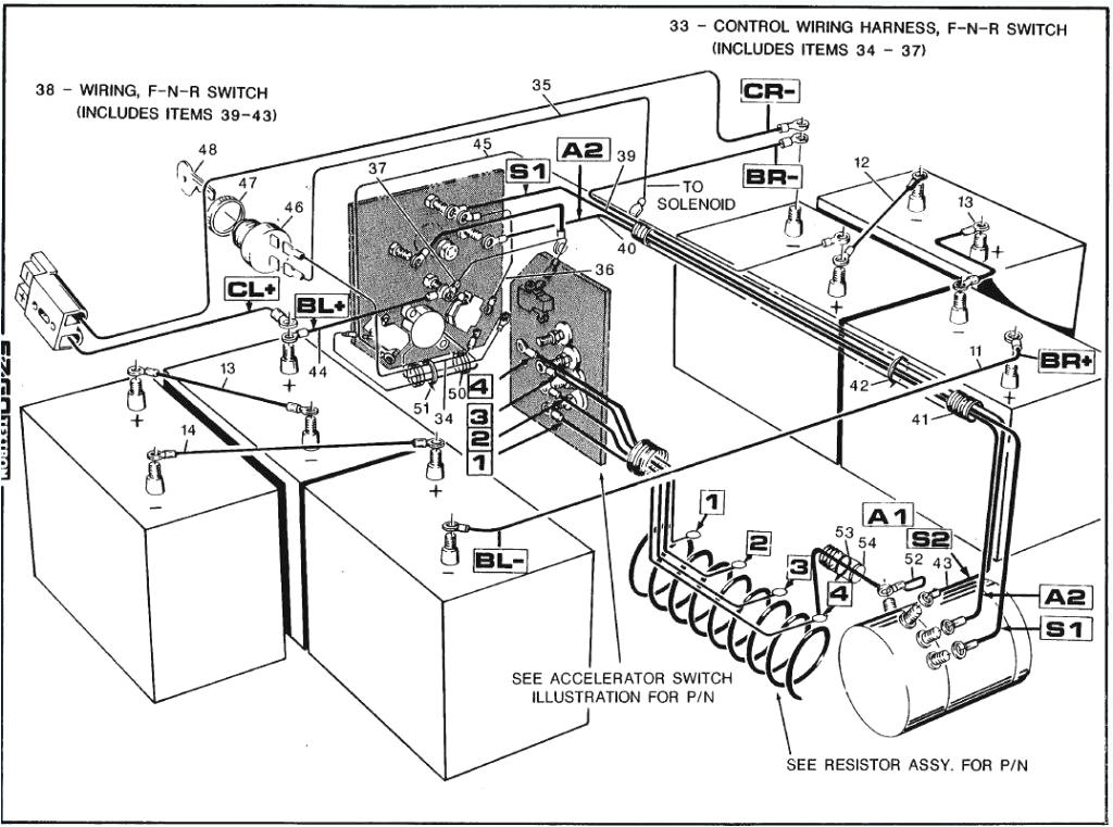 1989 ez go golf cart wiring diagram wiring diagram mega 1989 ezgo electric wiring diagram 1988