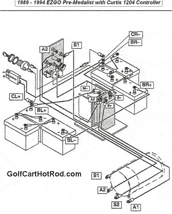 1989 1994 ezgo cart pre medalist wiring diagram 1994 ezgo marathon gas wiring diagram 1989 1994