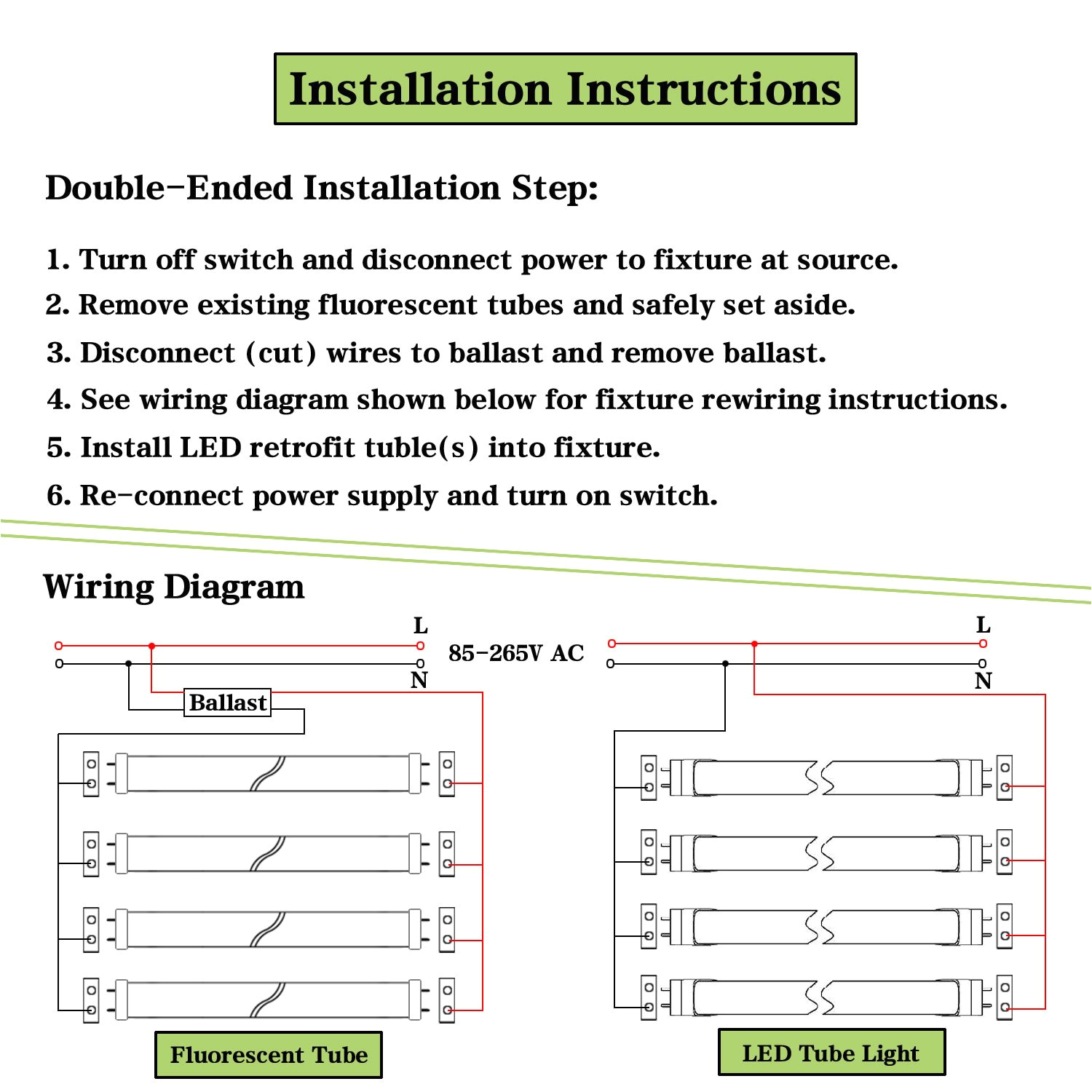 4 wire diagram for led tube fixture wiring library 4 wire diagram for led tube fixture