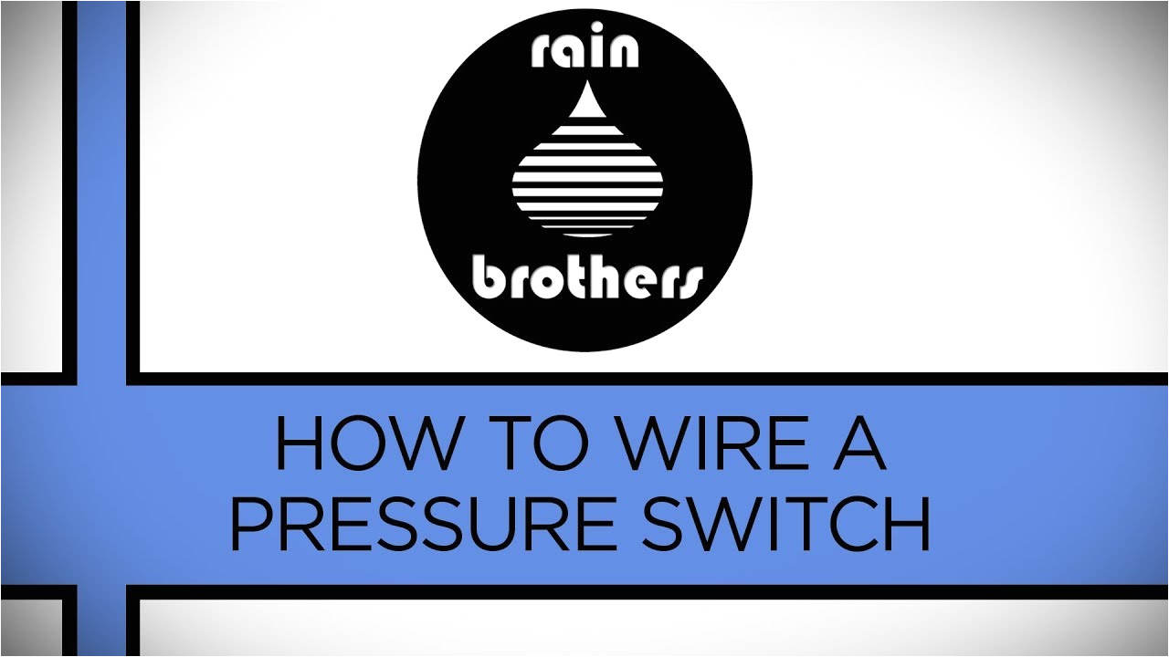 how to wire a pressure switch youtube diagram for square d pressure switch water pumps electrical diagrams