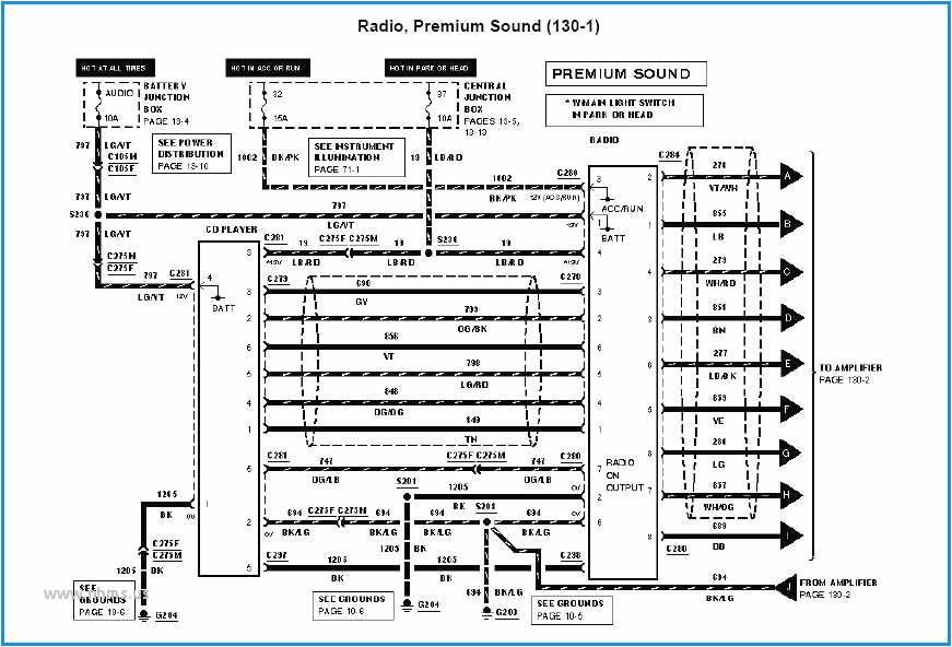 Wiring Diagram ford Mustang 2000 Mustang Wiring Diagram Schema Diagram Database