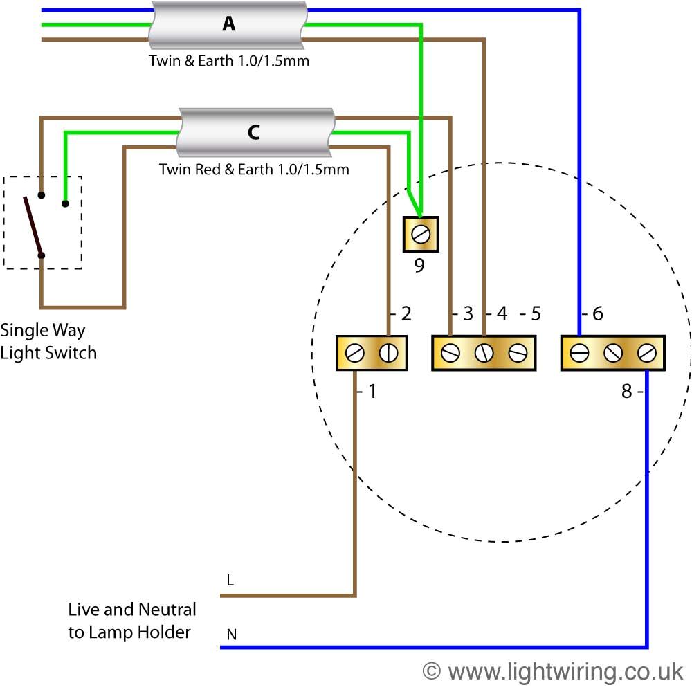lighting circuit wiring diagram wiring diagram user wiring a lighting circuit diagram radial circuit light wiring