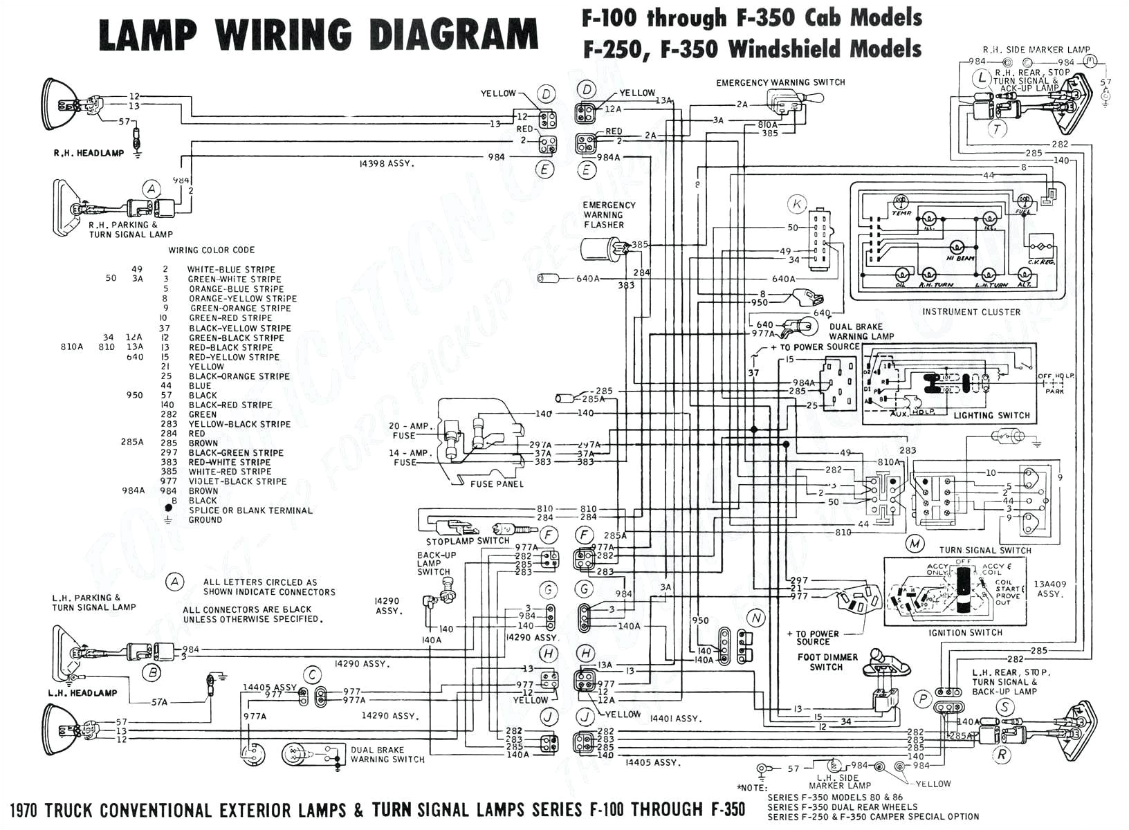 Wiring Diagram Trailer Lights ford F350 Wiring Wiring Diagram Expert