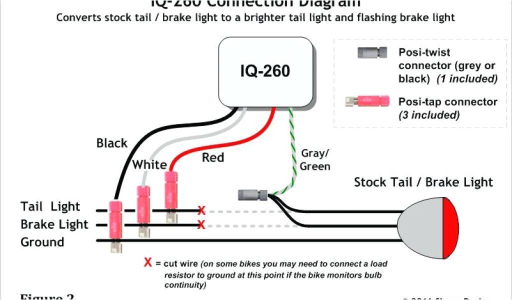 Flush Mount Led Tail Light Wiring Diagram Wiring Diagram For Led Tail Lights Autocardesign Optronics Stl89rcb Streamline Sealed Led Lights 1 Pair Of Led Ultra Bright White Lights Universal Trailer Light Wiring