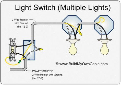 wiring ac lights in parallel wiring diagram name a lights wiring diagram
