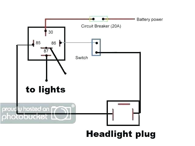 spotlight wiring diagram 4 pin relay data schematics diagrams ospotlights wiring up spotlight relay on diagram