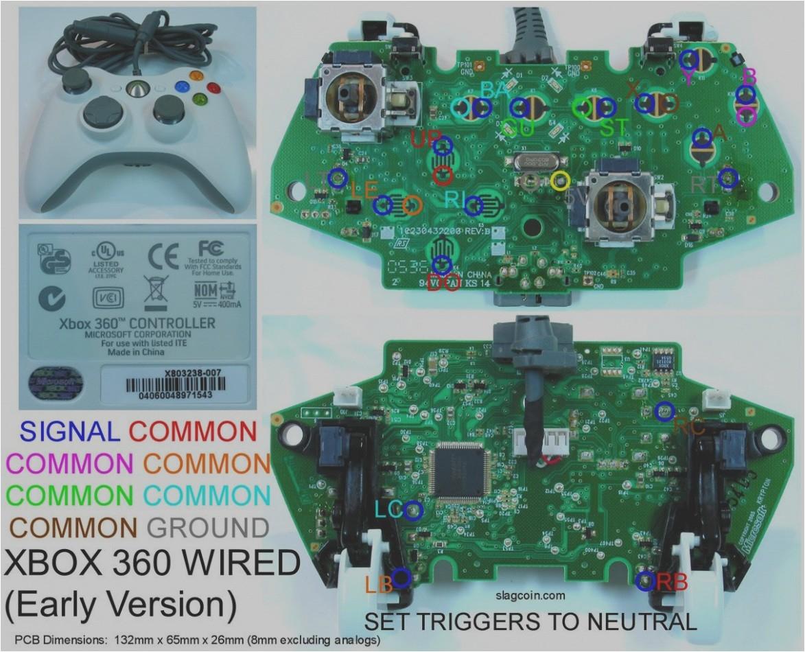 Xbox 360 Controller Wire Diagram Xbox 360 Controller Wire Diagram Wire Diagram