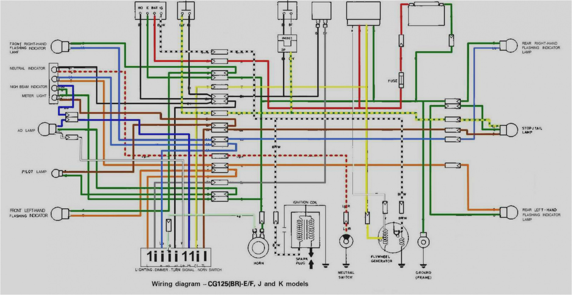 wiring diagram of honda xrm 110 wiring diagram completed honda xrm electrical diagram wiring diagram var