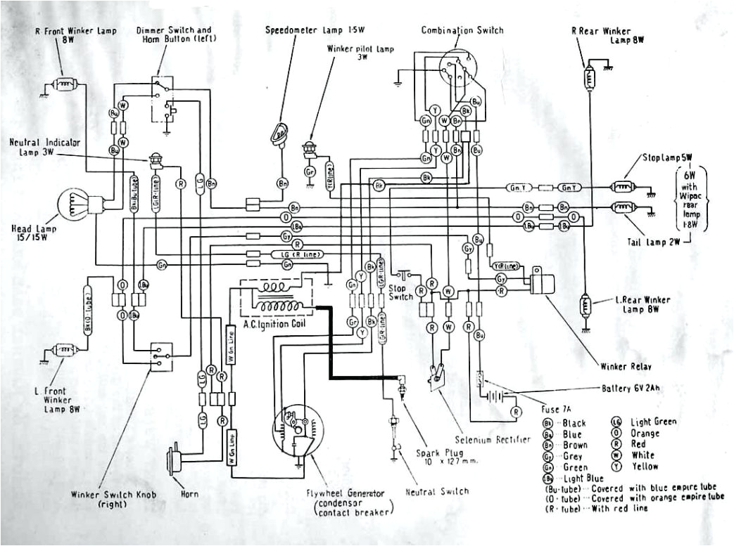 wiring diagram of honda xrm 110 wiring diagram sample