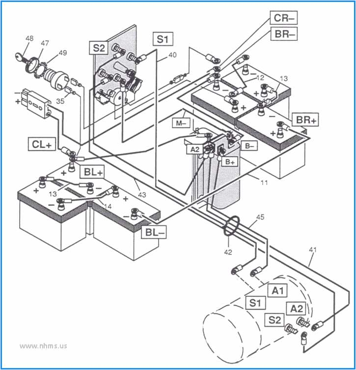 48v golf cart wiring diagram wiring diagram toolbox 2000 yamaha 36 volt golf cart wiring diagram 36 volt yamaha golf cart wiring diagram