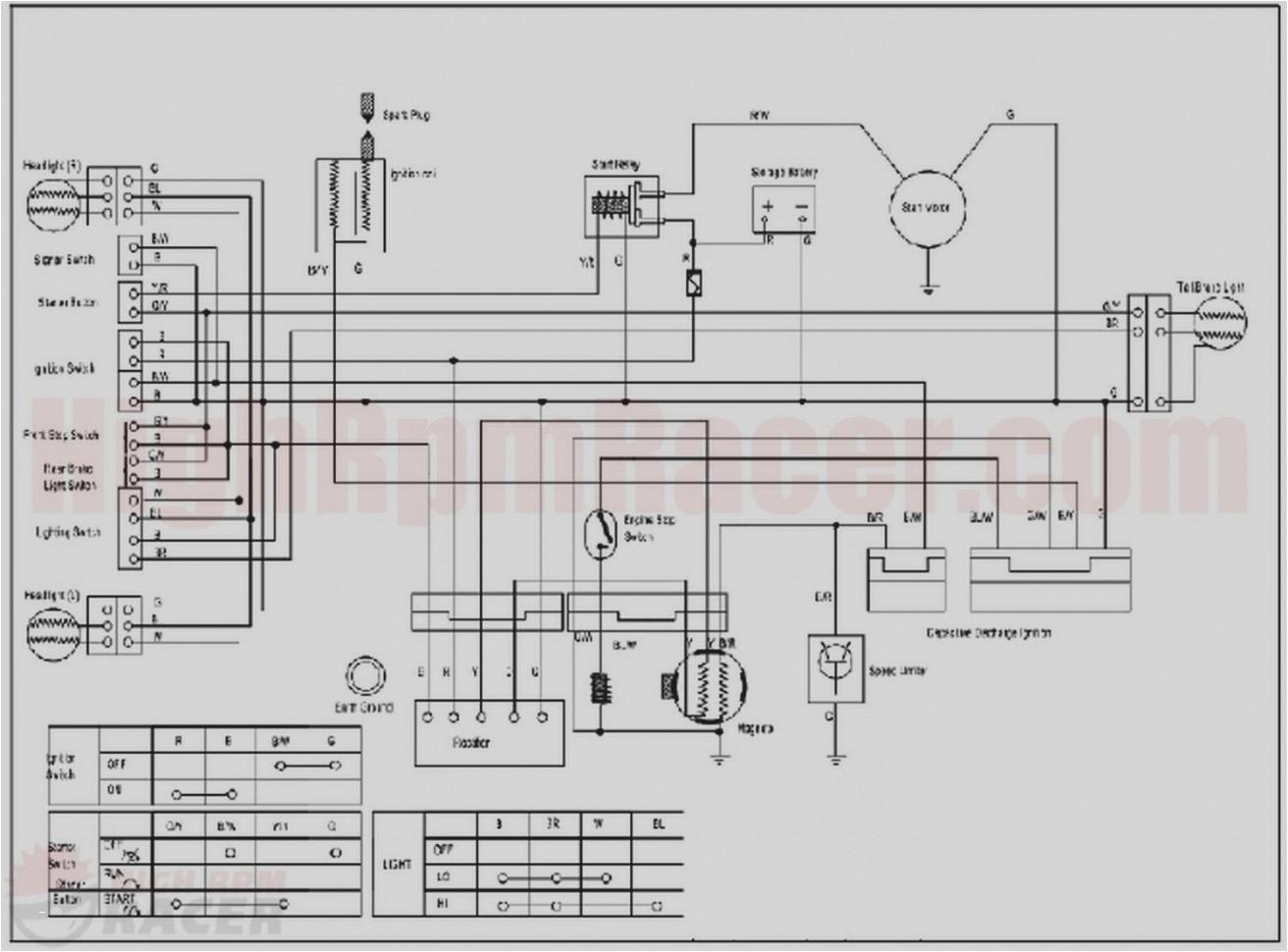 chinese 200 atv wiring diagrams