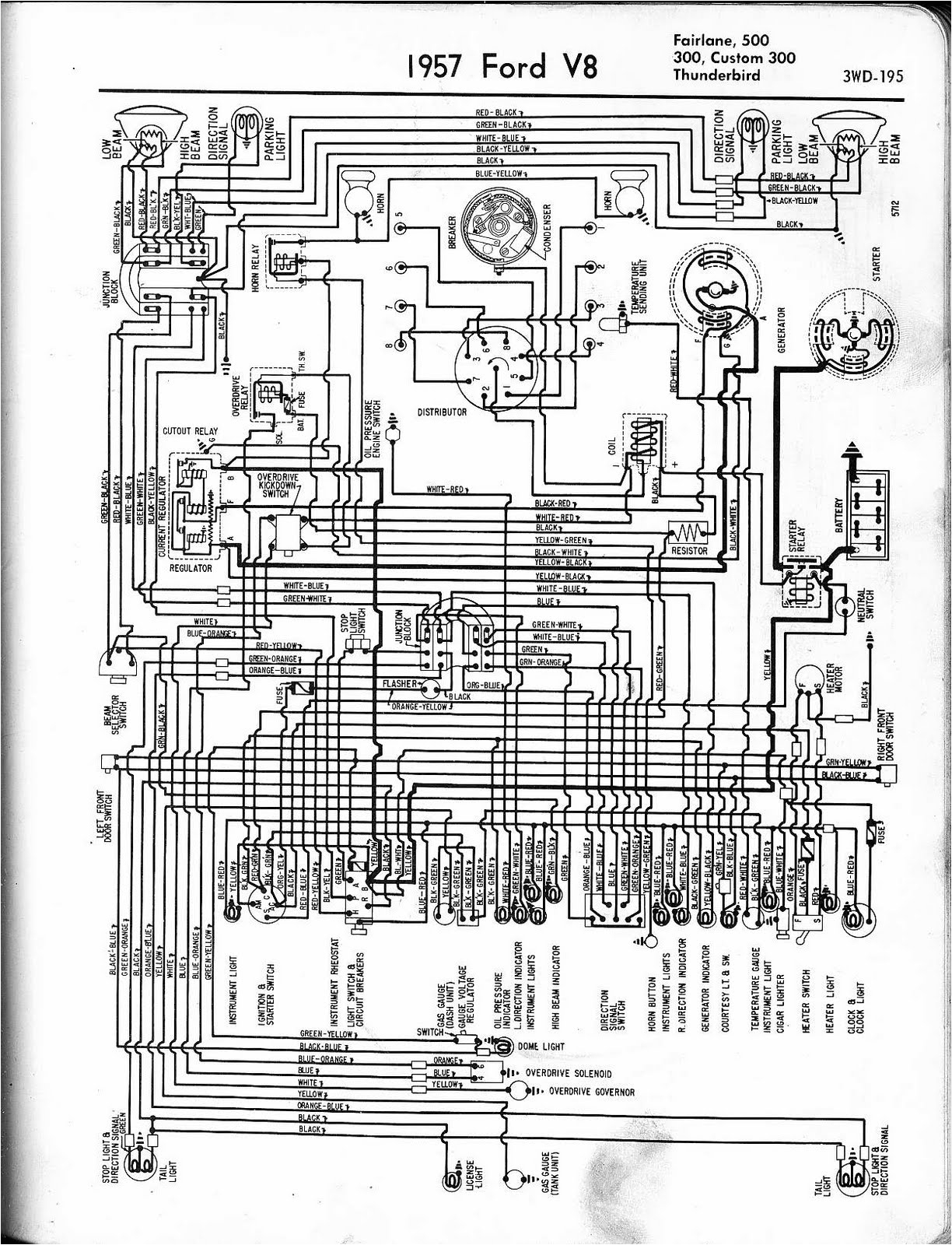 1957 ford wiring harness wiring diagram post 1957 ford wiring harness 1957 ford ranch wagon wiring
