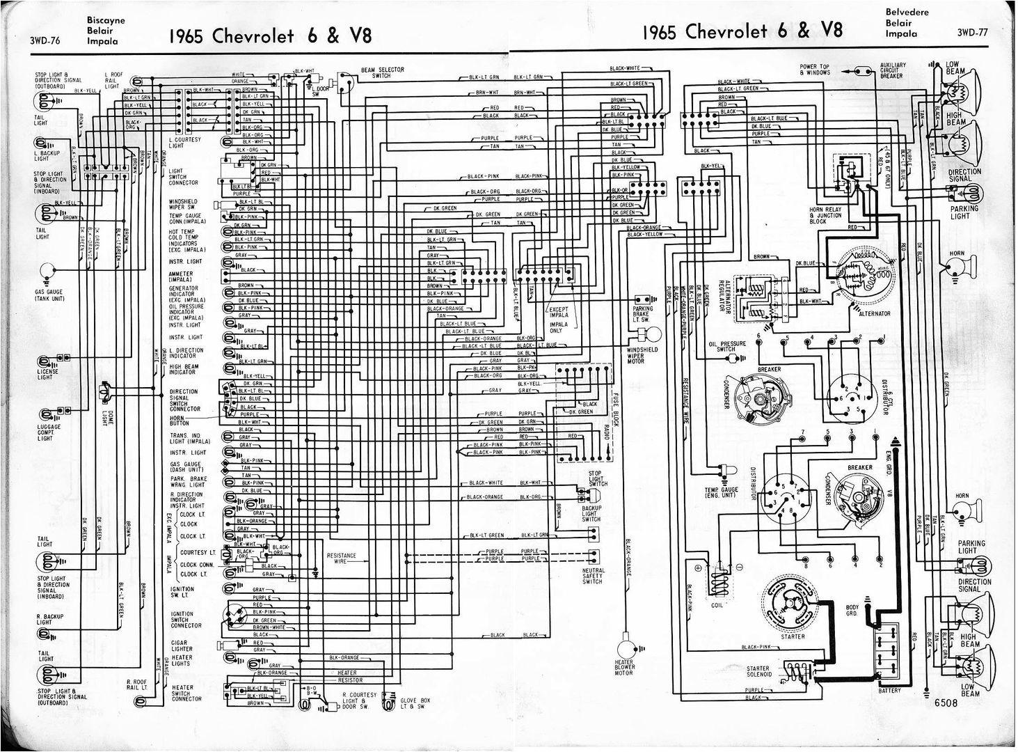00 impala wiring diagram