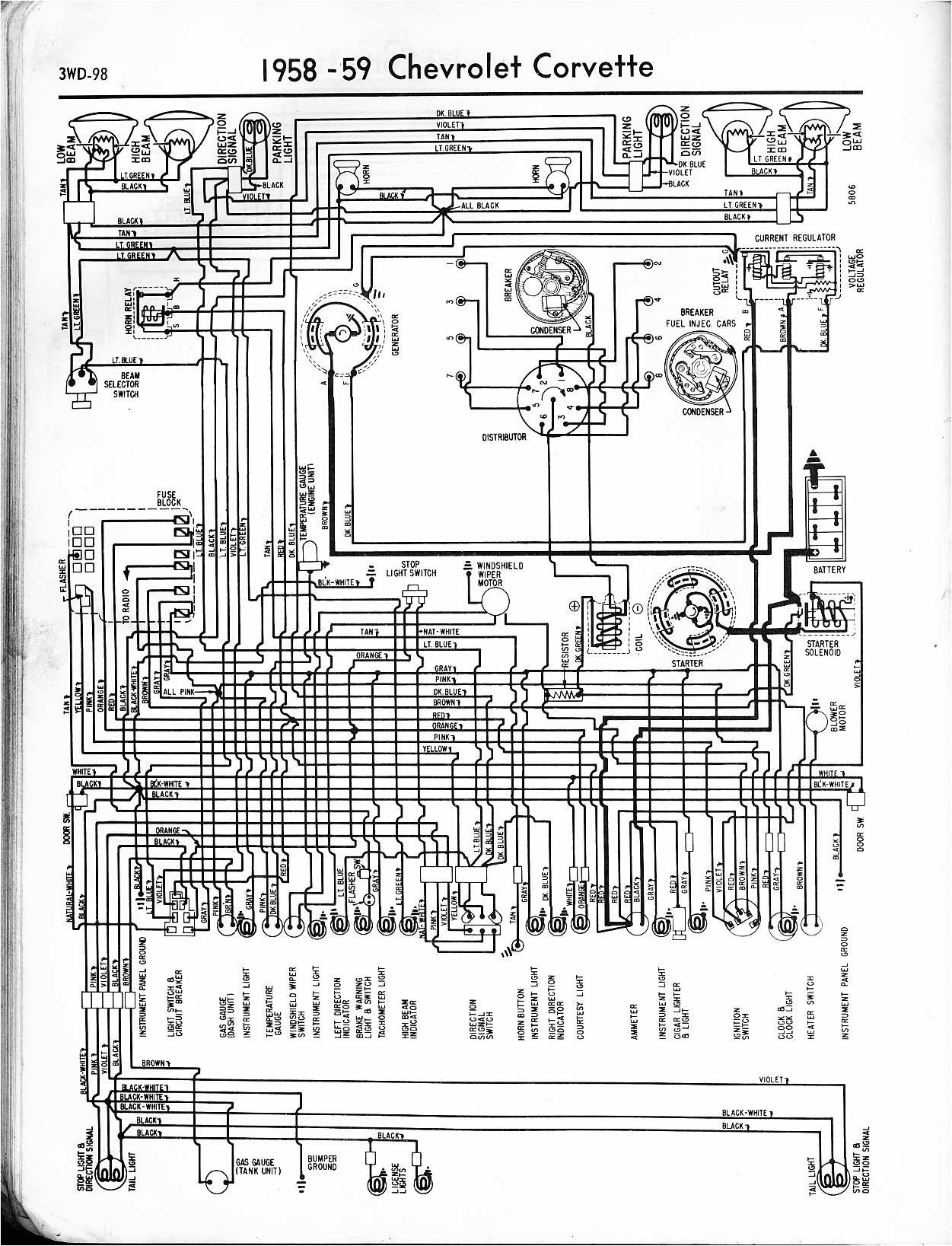 1967 Impala Wiring Diagram 57 65 Chevy Wiring Diagrams