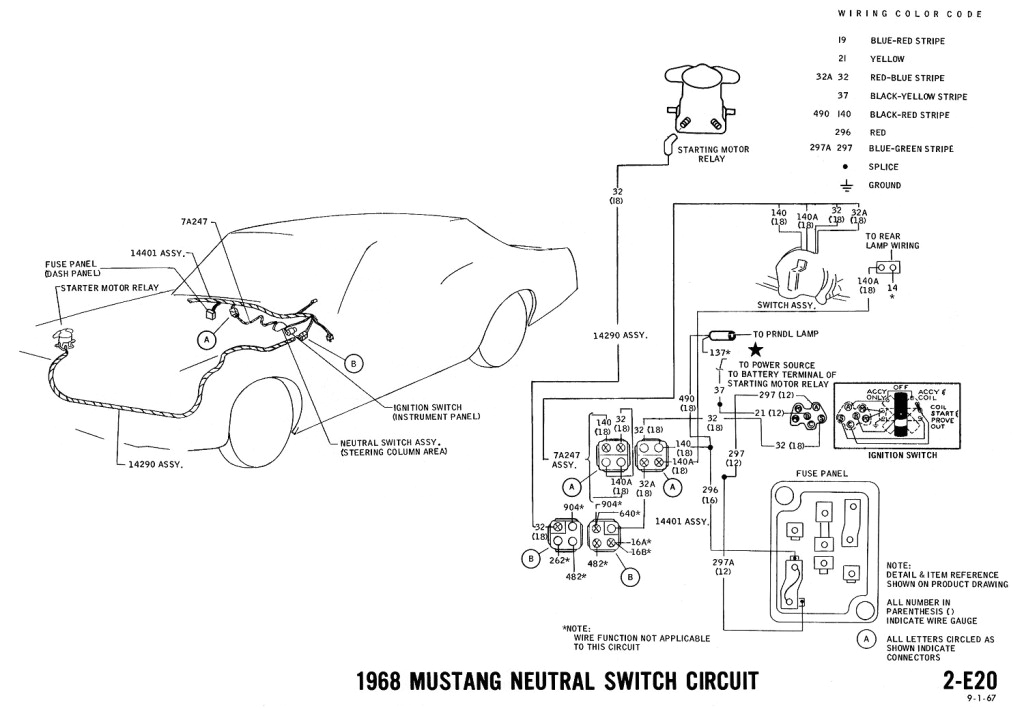 1968 Mustang Engine Wiring Diagram 1968 Mustang Wiring Diagrams and Vacuum Schematics Average Joe