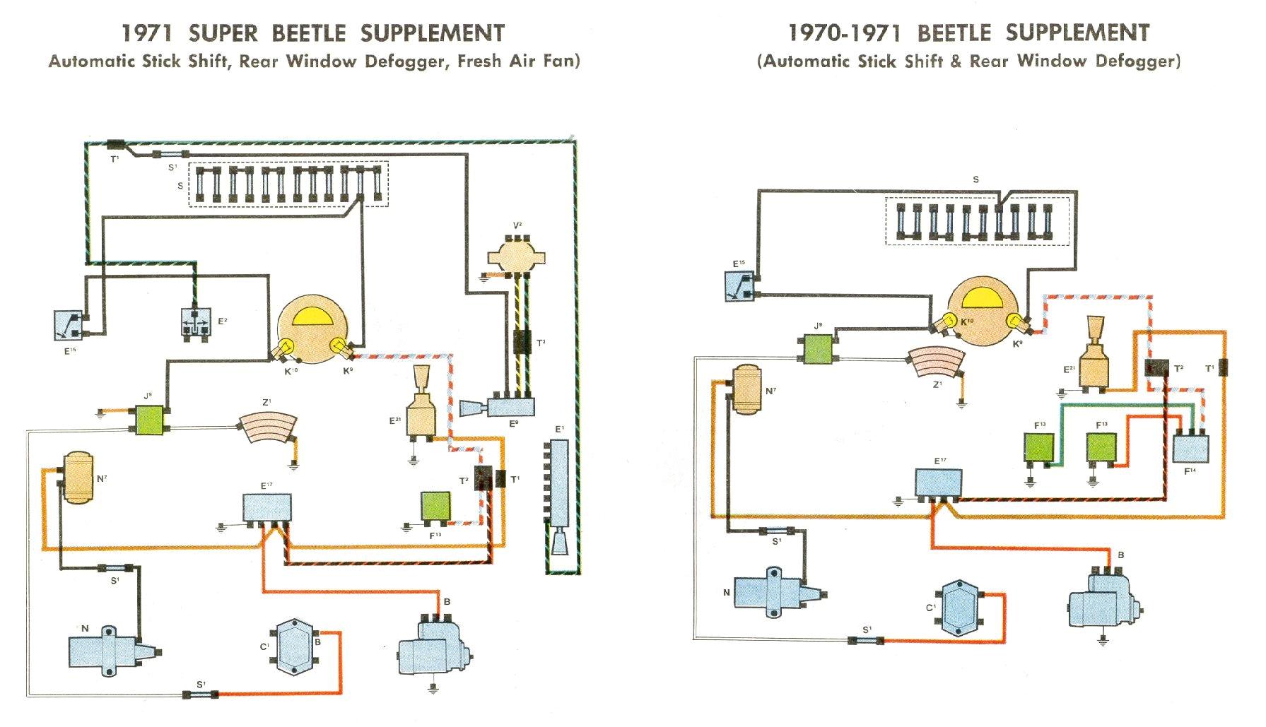1971 vw super beetle fuse diagram wiring diagrams ments 1971 beetle fuse box