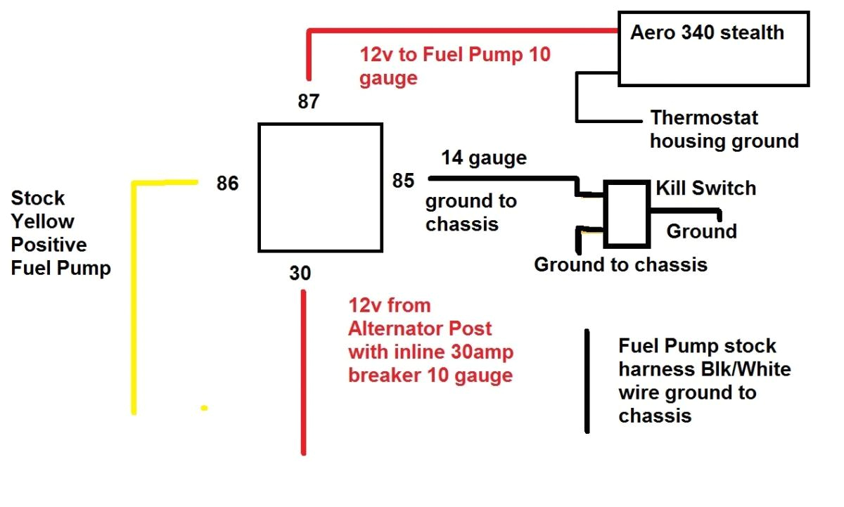 fuel pump wiring gauge data schematic diagram 10 gauge wiring harness fuel pump fuse holder
