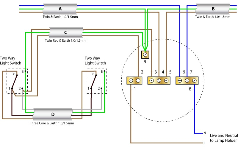 switch wiring diagram uk blog wiring diagram ceiling rose wiring with two way switching new