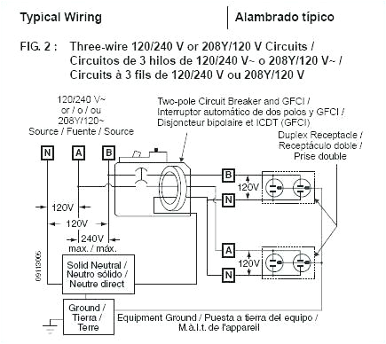 two pole gfci breaker wiring diagram double 15 amp home improvement marvelous full size