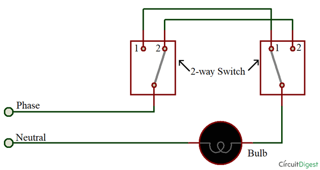 2 way switching by 2 wire method png