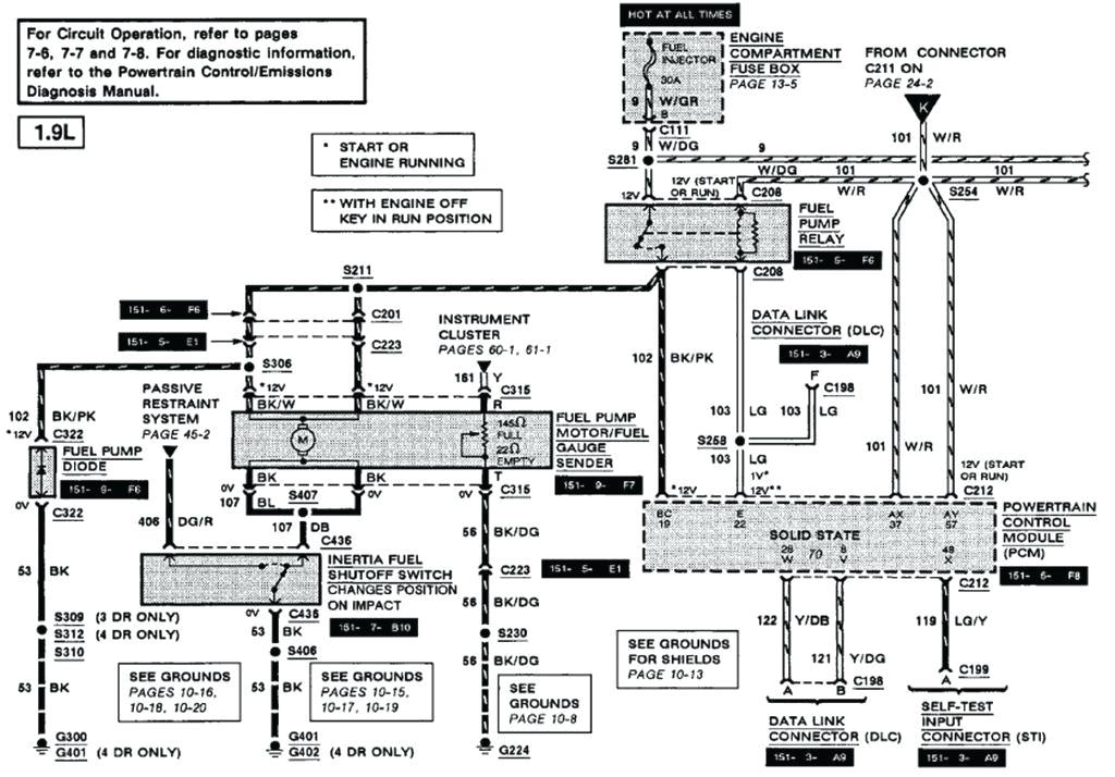 1997 ford escort zx2 wiring diagram 1999 radio at