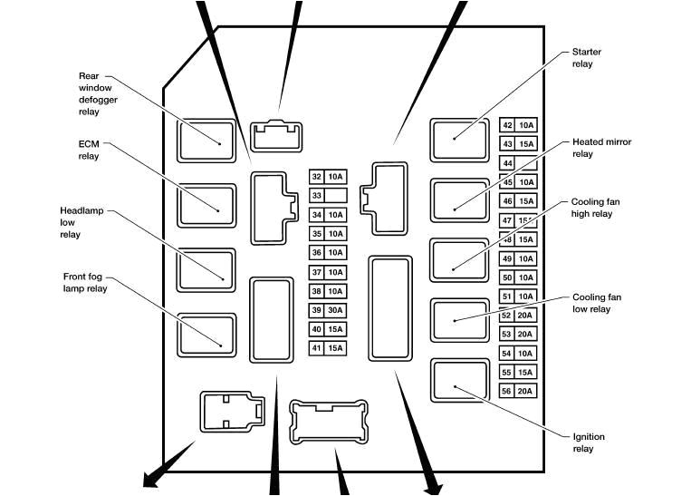 fuse box diagram for a 2007 nissan frontier wiring wiring diagram 2007 nissan xterra fuse diagram