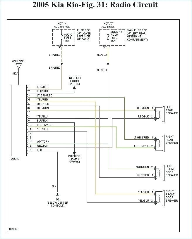2000 kia sportage radio wiring code wiring diagram details 2006 kia sportage stereo wiring diagram 2000