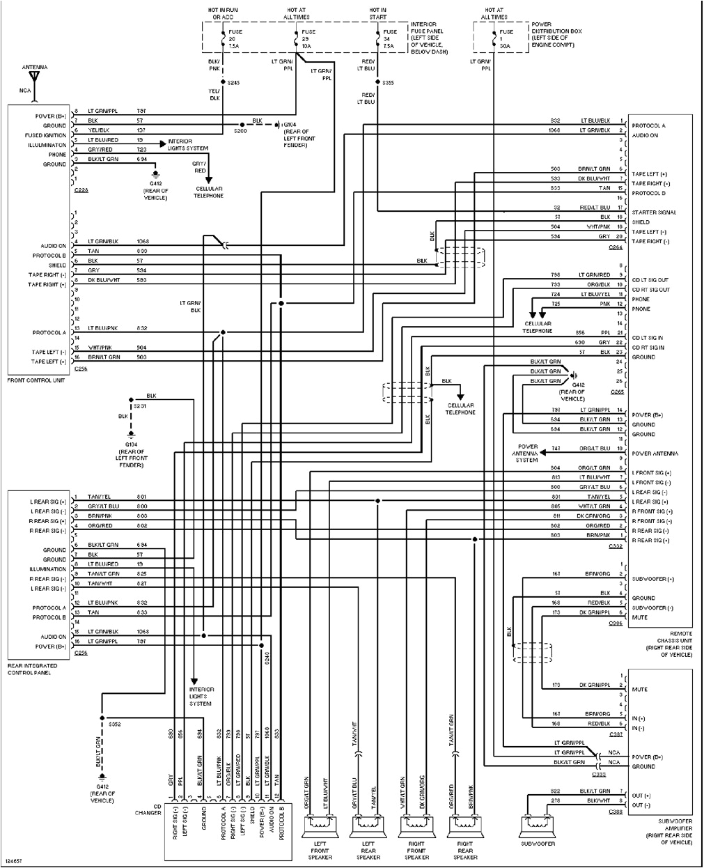 2002 ford Explorer Wiring Diagram ford Wiring Diagram 2002 Wiring Diagram Page