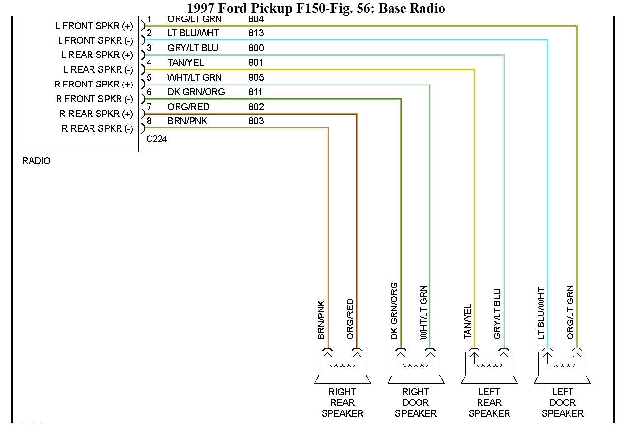 ford speaker wiring color codes wiring diagram details 1996 ford explorer radio wiring harness speaker wiring