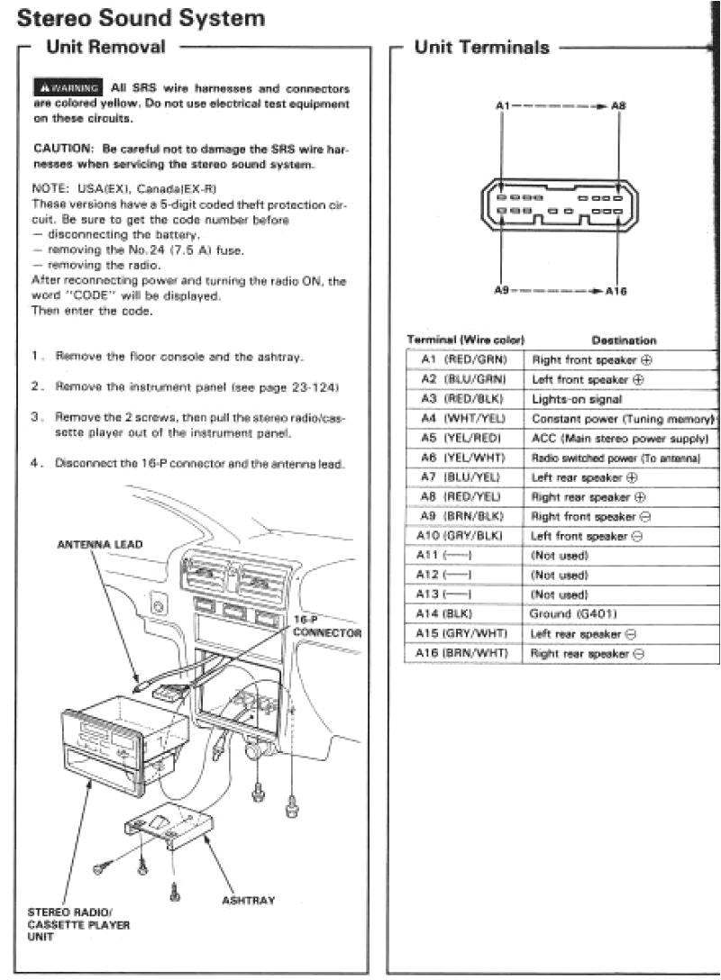 2003 honda element radio wiring wiring diagram namehonda element stereo wiring 1