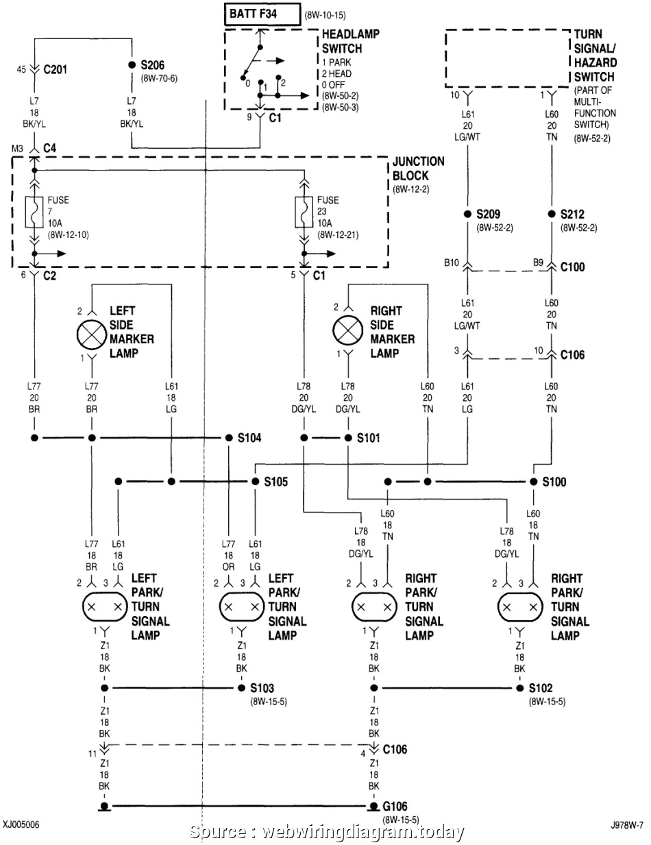 jeep turn signal wiring electrical schematic wiring diagram 2004 jeep grand cherokee turn signal diagram as well jeep wrangler tj