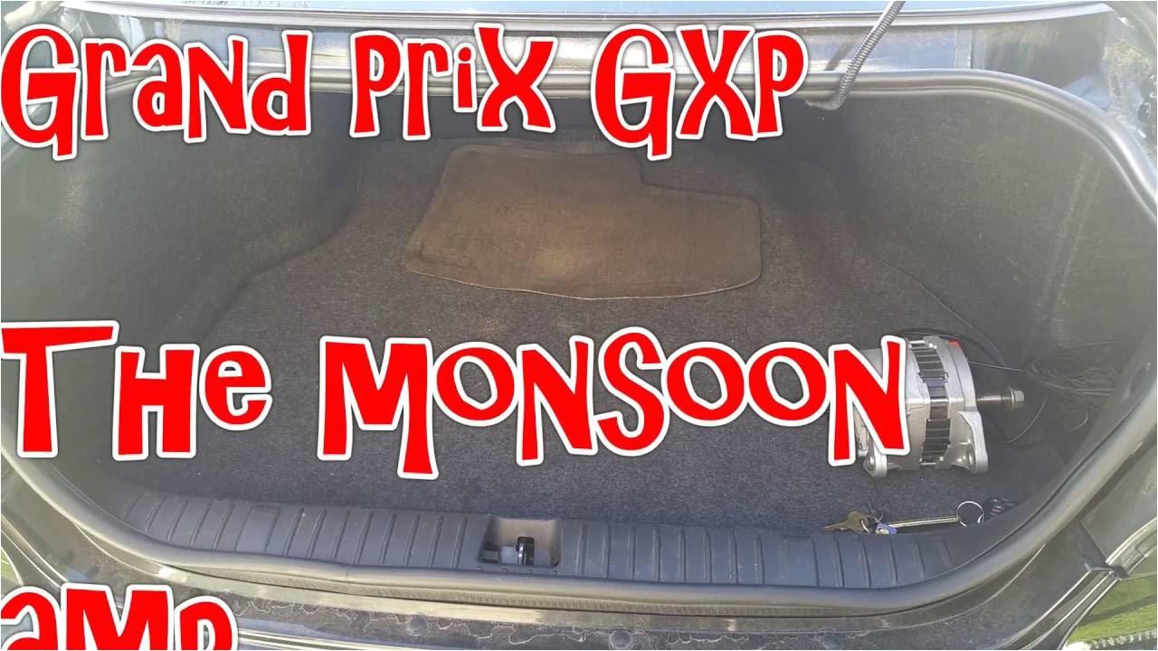 2008 grand prix gxp monsoon amp