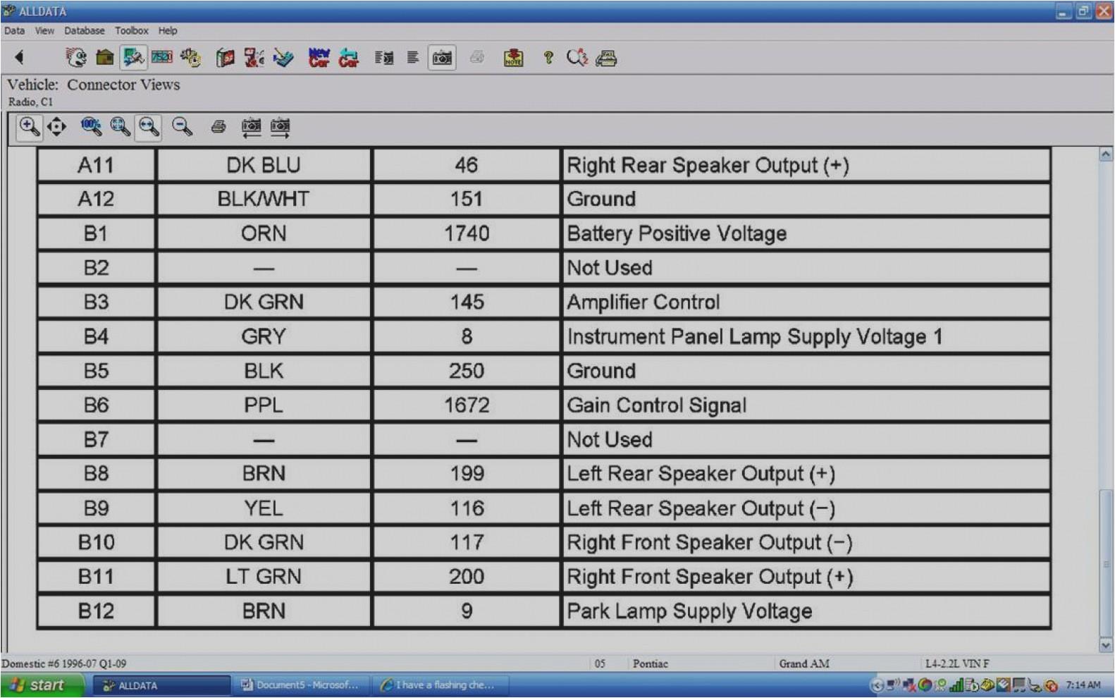 2005 pontiac grand am radio wiring diagram wiring diagram article2005 pontiac grand prix stereo wiring harness