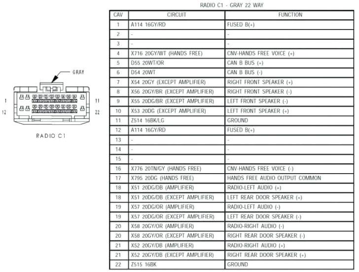 2010 Chrysler 300 Radio Wiring Diagram Chrysler 300 Stereo Wiring Diagram Wiring Diagram Center