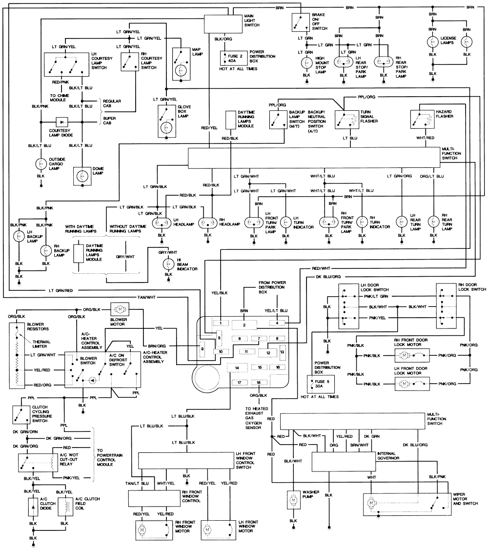 wiring diagram for 2006 ford ranger wiring diagram files 2006 ford ranger heater wiring