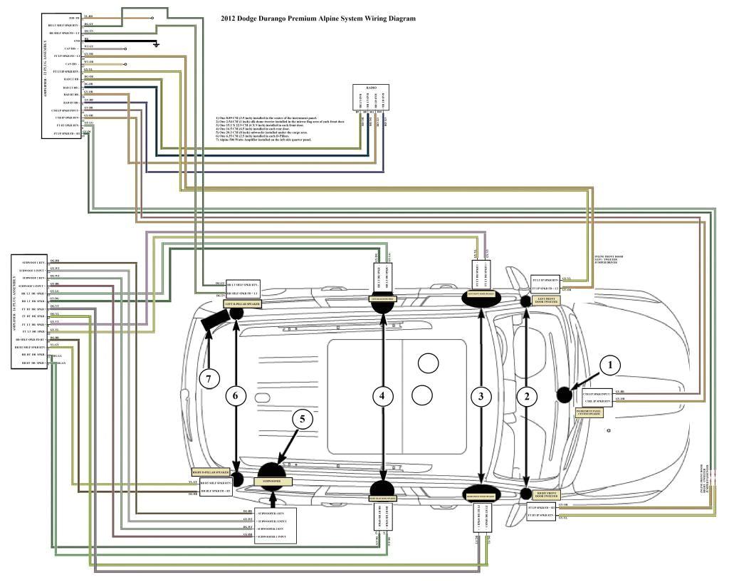 changing the head unit in a 2013 sxt archive dodge durango forum rh durangoforumz com 2015 dodge challenger wiring diagram