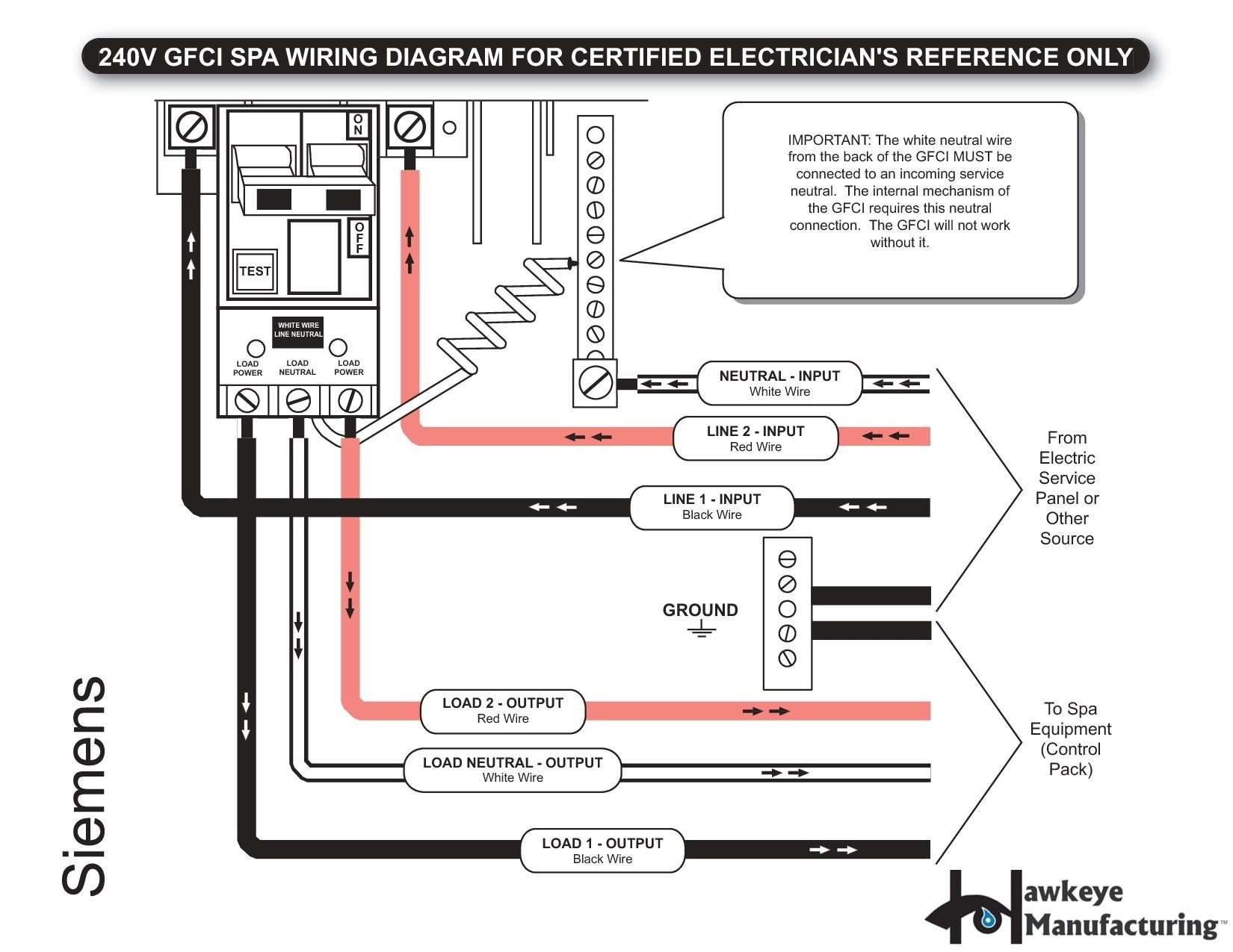 220v Hot Tub Wiring Diagram Hot Tub Wiring Diagram 240 Wiring Diagram Database