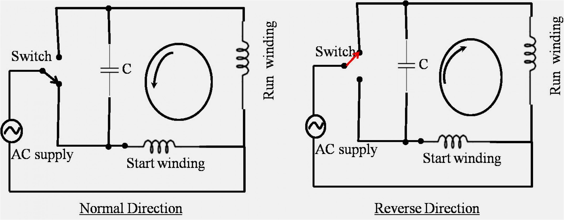 single phase electrical motor winding diagram download wiring wiring diagram induction motor single phase free download wiring