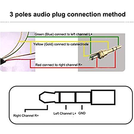 4 Pole 3.5 Mm Jack Wiring Diagram Buy Pnpbazaar Stereo Connector 3 5 Mm Jack Audio Plug for Headphone