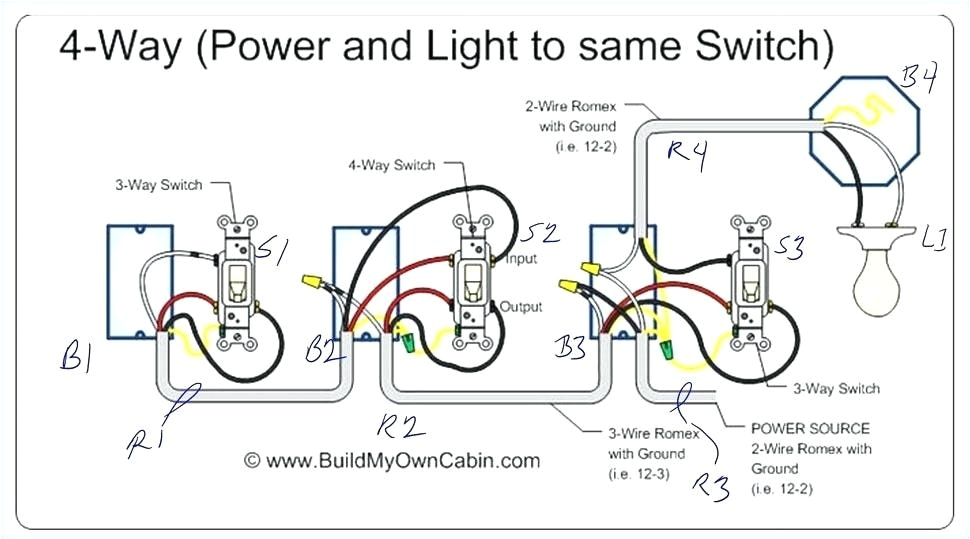 4 way dimmer switch best wiring diagram light of four within