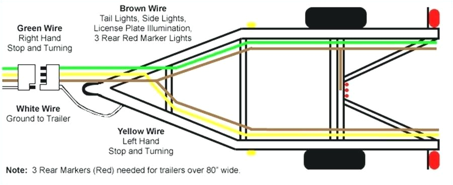 how to wire 4 pole trailer lights blog wiring diagram 4 pin flat trailer light wiring