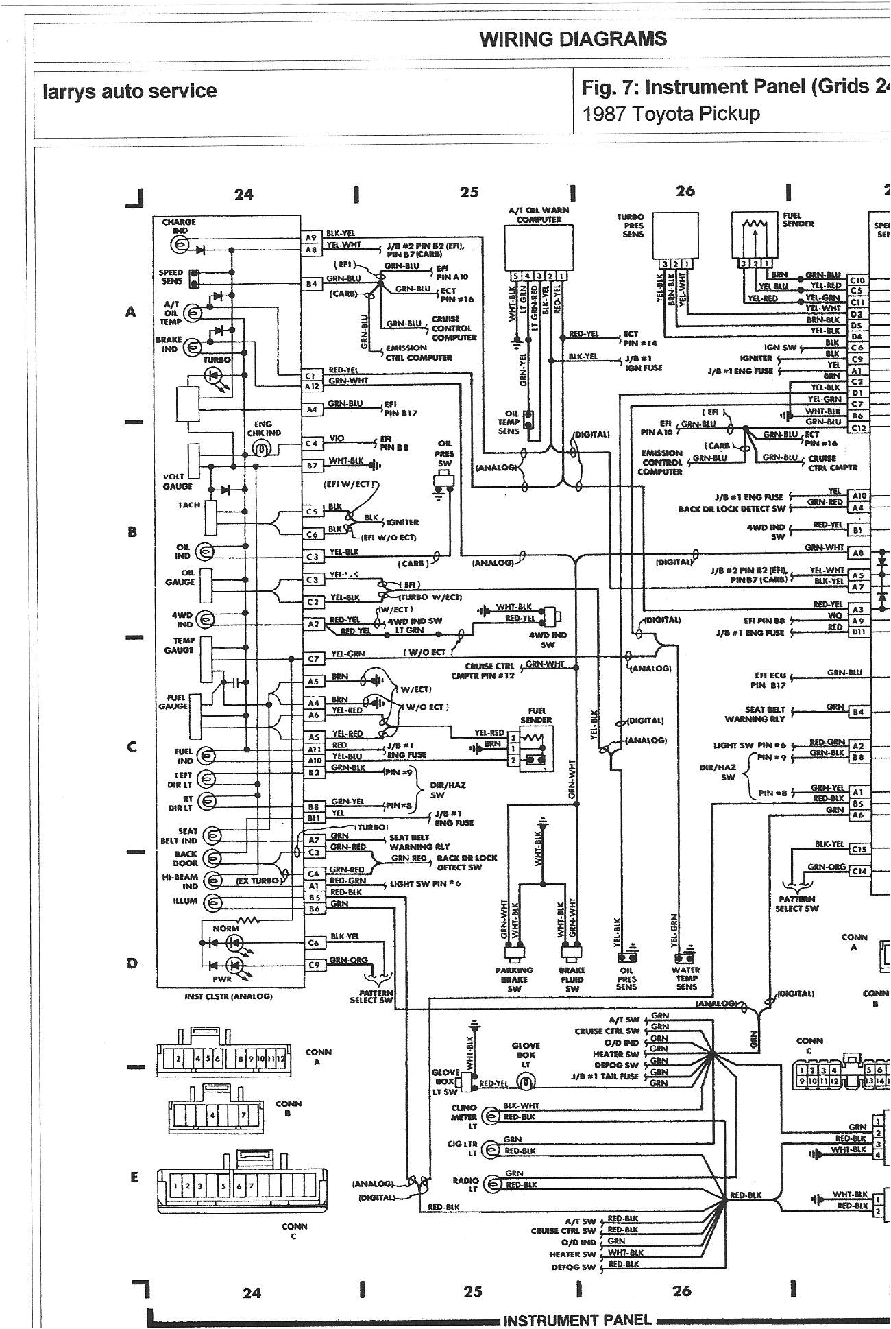 1980 toyota pickup wiring harness online manuual of wiring diagram 1989 toyota pickup wiring harness wiring